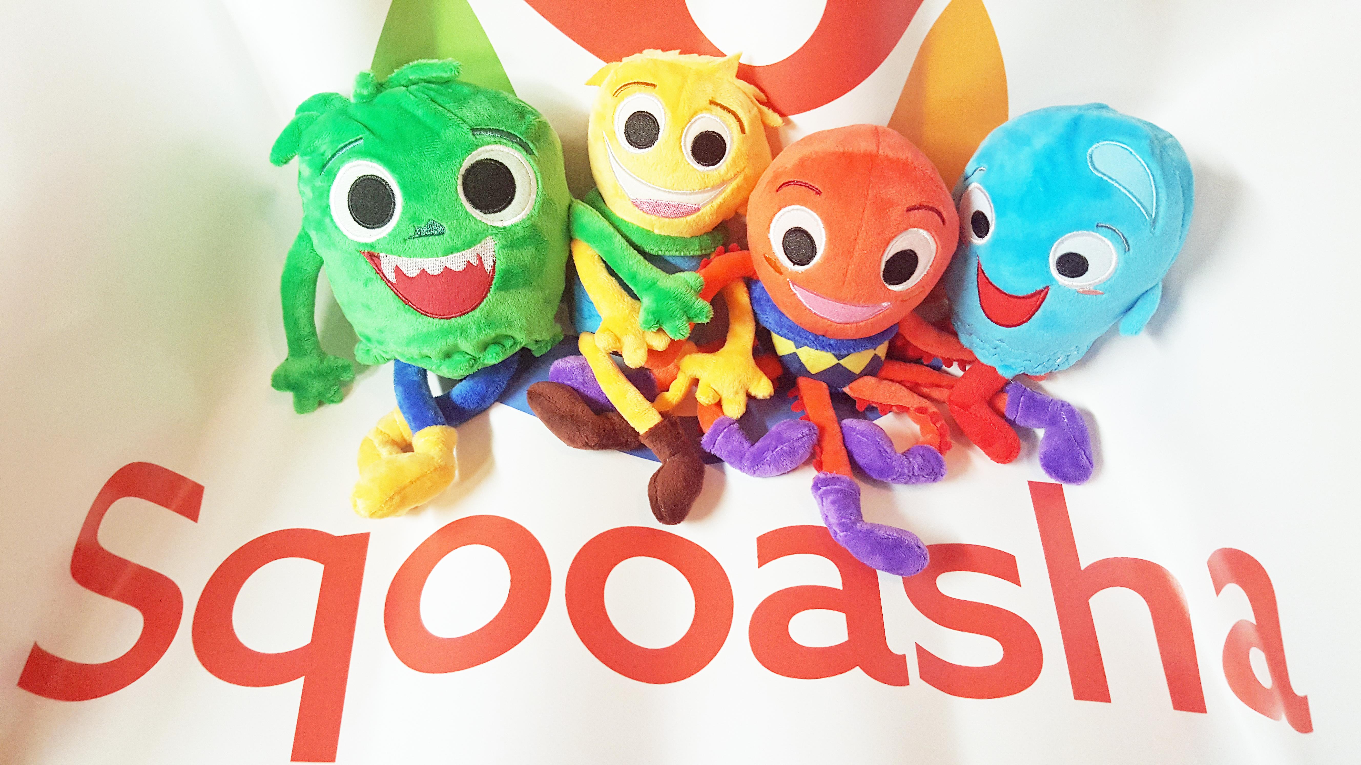 Sqooasha Mascot